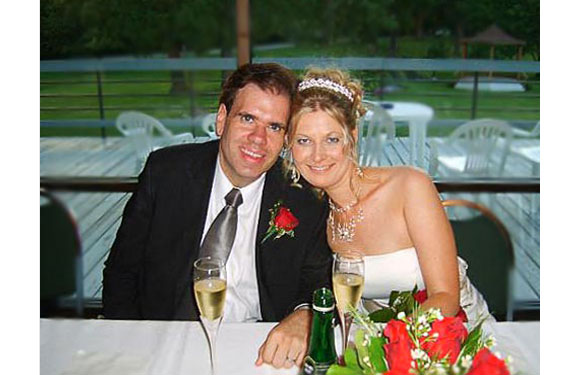 """Amanda married Brian in August, 2006 <br> """"During high school and college, I had no clue about <i>The Rules</i>.  I was overweight and took little care of my cosmetics.  Whatever man was interested me, I constantly called him and spilled my life story to get close. Then I read <i>The Rules</i> and realized what I had been doing wrong. When Brian asked me out, I didn not return his phone calls and waited for him. I did not tell him my life story and spill my guts right away.  I acted honest but mysterious. Brian proposed one year later."""""""